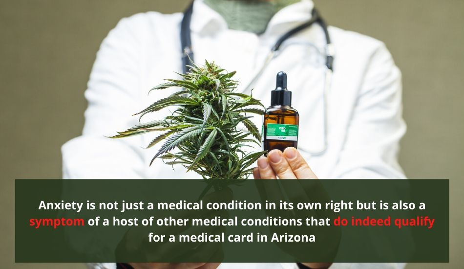 medical card for anxiety in arizona