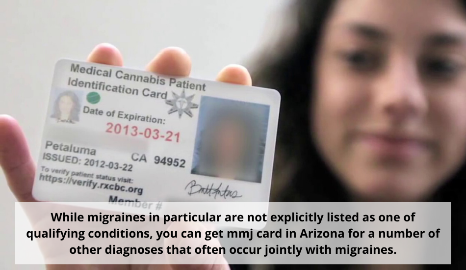 Arizona medical card for migraines